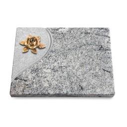 Grabtafel Paradiso Folio Rose 4 (Bronze)