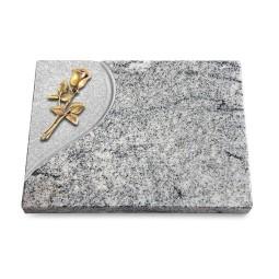 Grabtafel Paradiso Folio Rose 8 (Bronze)