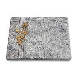 Grabtafel Paradiso Strikt Rose 13 (Bronze)
