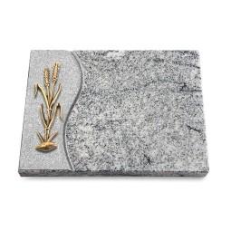 Grabtafel Paradiso Wave Ähren 2 (Bronze)