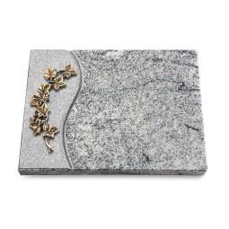 Grabtafel Paradiso Wave Efeu (Bronze)