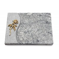 Grabtafel Paradiso Wave Rose 2 (Bronze)