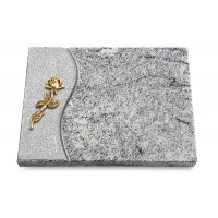Grabtafel Paradiso Wave Rose 7 (Bronze)