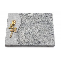 Grabtafel Paradiso Wave Rose 8 (Bronze)