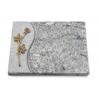 Grabtafel Paradiso Wave Rose 9 (Bronze)