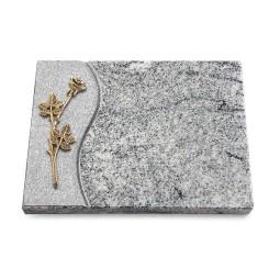 Grabtafel Paradiso Wave Rose 9 (Bronze)