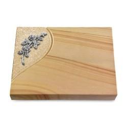 Grabtafel Rainbow Folio Rose 5 (Alu)