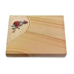 Grabtafel Rainbow Folio Rose 1 (Color)
