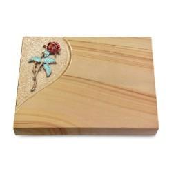 Grabtafel Rainbow Folio Rose 2 (Color)