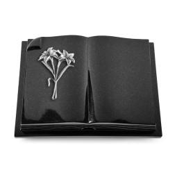 Livre Auris/Indisch-Black Kreuz/Rose (Alu)