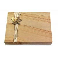 Grabtafel Rainbow Strikt Rose 3 (Bronze)