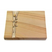 Grabtafel Rainbow Strikt Rose 12 (Bronze)