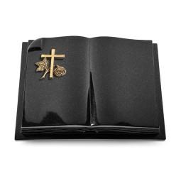 Livre Auris/Indisch-Black Herzen (Bronze)