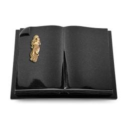 Livre Auris/Indisch-Black Kreuz/Rosen (Bronze)