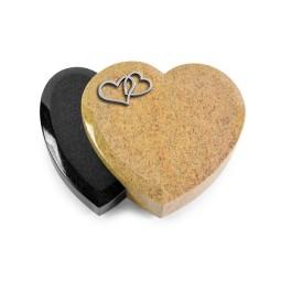 Amoureux/Aruba-Black Herzen (Alu)
