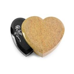 Amoureux/Aruba-Black Rose 2 (Alu)