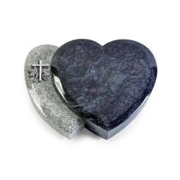 Amoureux/Kashmir-Black Kreuz 1 (Alu)