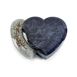 Amoureux/Kashmir-Black Efeu (Bronze)
