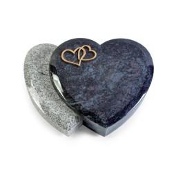 Amoureux/Kashmir-Black Herzen (Bronze)