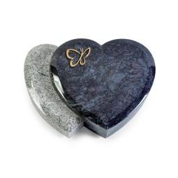 Amoureux/Kashmir-Black Papillon (Bronze)