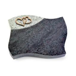 Firenze/Aruba-Black Herzen (Bronze)