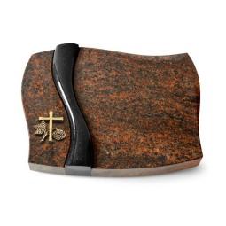 Firenze/Aruba-Black Kreuz 1 (Bronze)