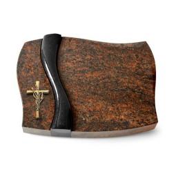 Firenze/Aruba-Black Kreuz/Ähren (Bronze)