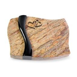 Samba/Aruba-Black Herzen (Bronze)