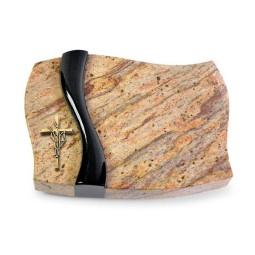 Samba/Aruba-Black Kreuz/Ähren (Bronze)