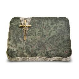 Tropical Green Delta Kreuz/Ähren (Bronze)