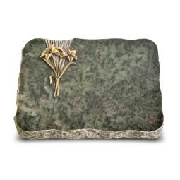 Tropical Green Delta Lilie (Bronze)