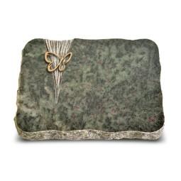 Tropical Green Delta Papillon (Bronze)