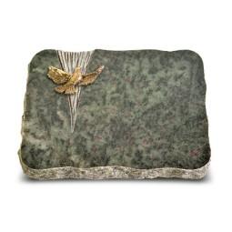 Tropical Green Delta Taube (Bronze)