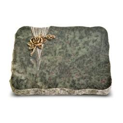 Tropical Green Delta Rose 1 (Bronze)