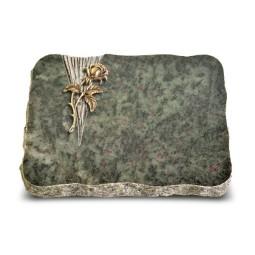 Tropical Green Delta Rose 2 (Bronze)