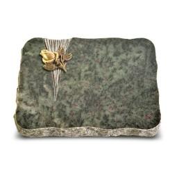 Tropical Green Delta Rose 3 (Bronze)