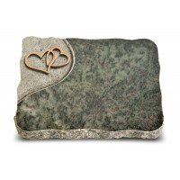 Tropical Green Folio Herzen (Bronze)