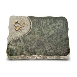 Tropical Green Folio Papillon (Bronze)