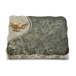 Tropical Green Folio Taube (Bronze)