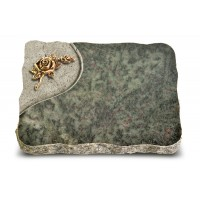 Tropical Green Folio Rose 1 (Bronze)