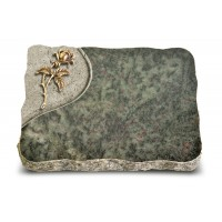 Tropical Green Folio Rose 2 (Bronze)