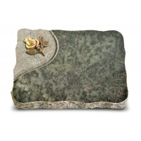 Tropical Green Folio Rose 3 (Bronze)