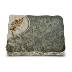 Tropical Green Folio Rose 5 (Bronze)