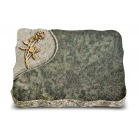 Tropical Green Folio Rose 6 (Bronze)