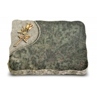 Tropical Green Folio Rose 8 (Bronze)