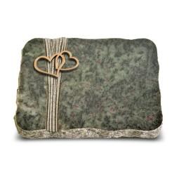 Tropical Green Strikt Herzen (Bronze)