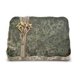 Tropical Green Strikt Lilie (Bronze)