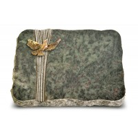Tropical Green Strikt Taube (Bronze)