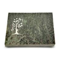 Grabtafel Tropical Green Pure Baum 1