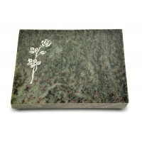 Grabtafel Tropical Green Pure Rose 2